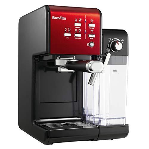 Siebträger-Kaffeemaschine von Breville und ihre Eigenschaften